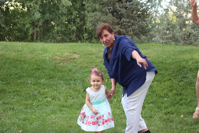 Tia Rosa y Emma